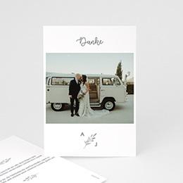 Danksagungskarten Hochzeit Olivenzweig