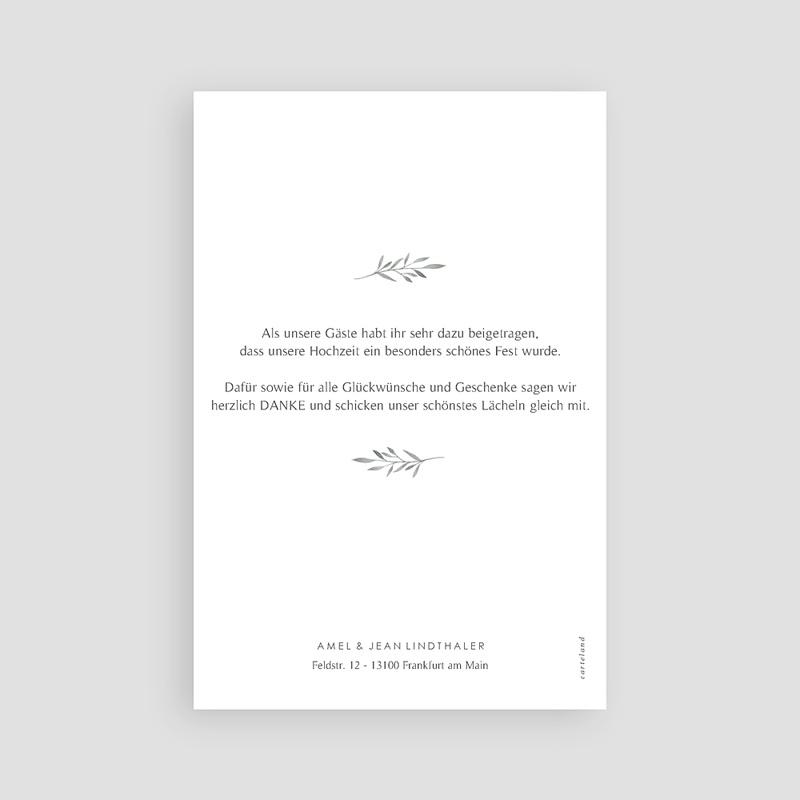 Stilvolle Danksagung Hochzeit - Olivenzweig 61475 thumb