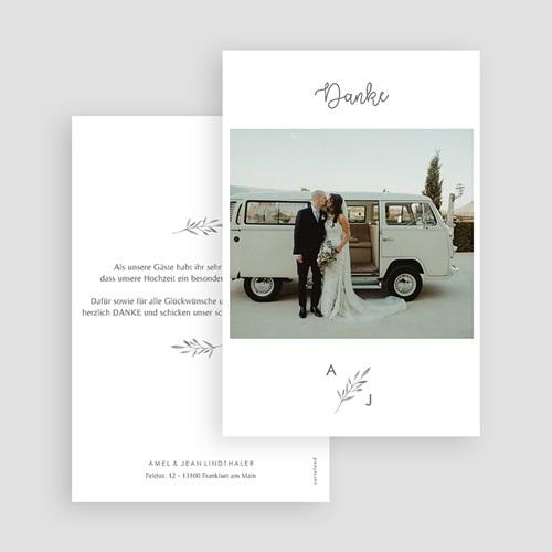 Stilvolle Danksagung Hochzeit - Olivenzweig 61476 thumb