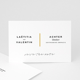 Save the date Hochzeit Eloquence