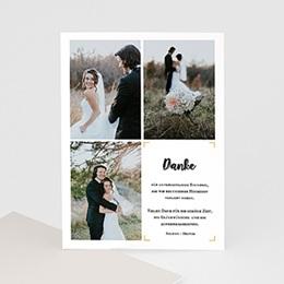 Danksagungskarten Hochzeit Typo Abenteuer