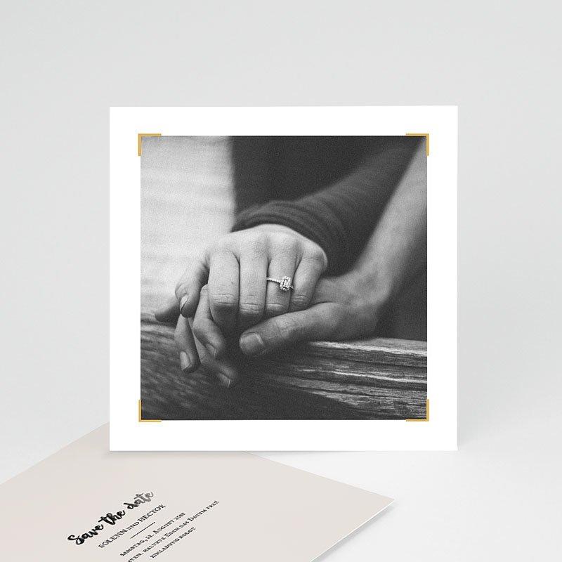 Save The Date Karten Hochzeit Typo Abenteuer