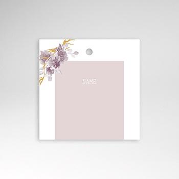 Tischkarten Hochzeit - Vintage Chic Rose - 0