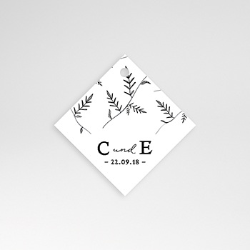Anhänger Hochzeit - Herbal Love - 0
