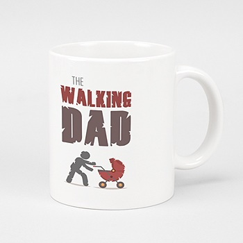 Fototasse zum  Vatertag The Walking Dad