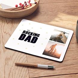 Mousepad Vatertag The Rocking Geek