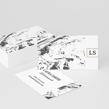 Visitenkarten - Eleganz in Mamor - 0