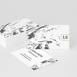 Visitenkarten Professionnel Eleganz in Mamor