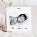 Geburtskarten für Mädchen Pastell