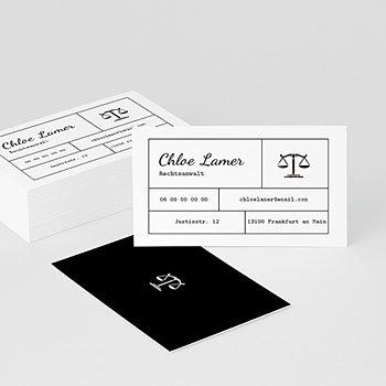 Visitenkarten - Rechtsanwalt & Co. - 0
