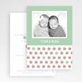 Geburtskarten für Zwillinge Little Apple gratuit