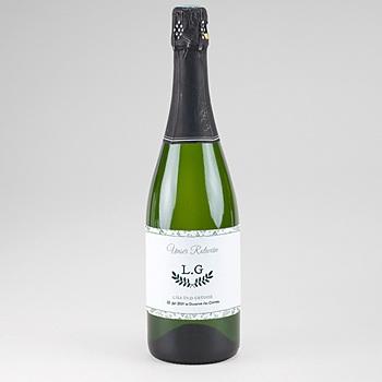 Flaschenetiketten Hochzeit - Pastell & Aquarell - 0