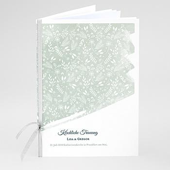 Kirchenheft zur Hochzeit individuell gestalten - Pastell & Aquarell - 0
