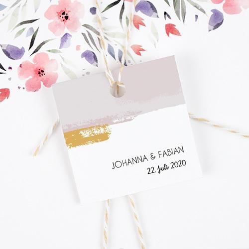 Geschenkanhänger Hochzeit Rose Quarz gratuit