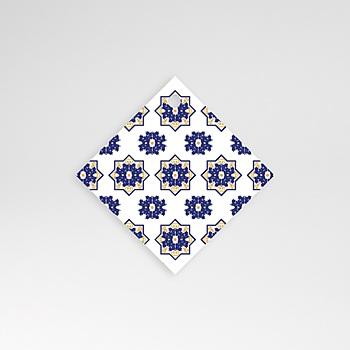 Anhänger Hochzeit - Ottomane Blau - 0