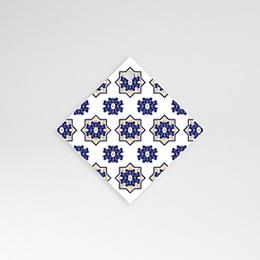 Anhänger Hochzeit Ottomane Blau