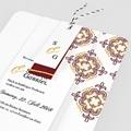 Orientalische Hochzeitskarten  - Ottoman Rot 62171 thumb