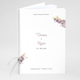Kirchenheft zur Hochzeit individuell gestalten Vintage Chic Rose