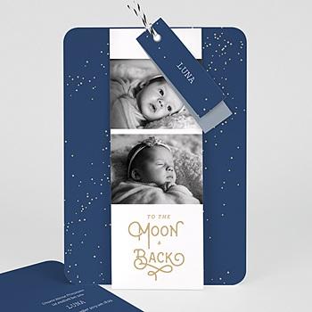 Geburtskarten für Mädchen - Luna - 0