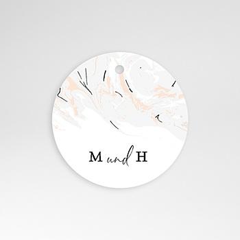 Anhänger Hochzeit - Mamor & Pastell - 0