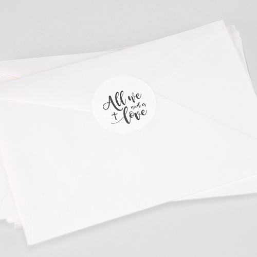 Aufkleber Kommunion - All you need is Love 62776 test