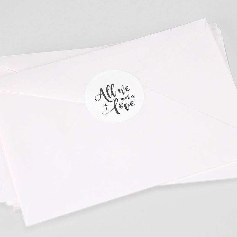 Aufkleber Kommunion - All you need is Love 62776 thumb