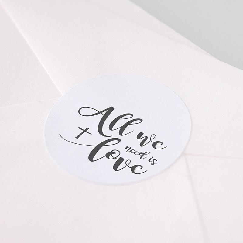 Aufkleber Kommunion - All you need is Love 62777 thumb