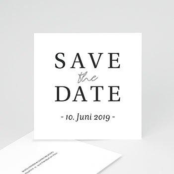 Save The Date  - Typografisch und Form - 0
