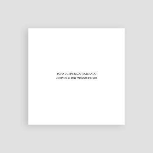 Save The Date Karten Hochzeit Typografisch und Form pas cher