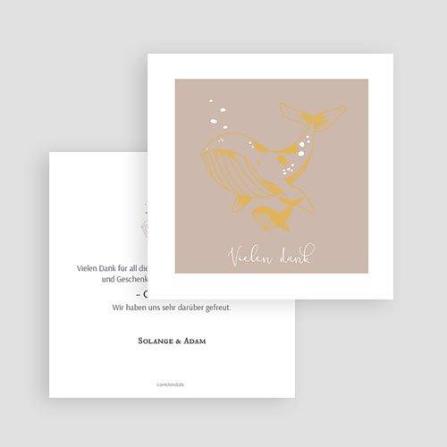 Dankeskarten Geburt Mädchen - Ozean 63164 thumb