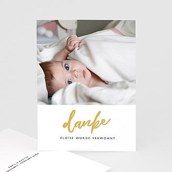 Dankeskarten Geburt Mädchen - Merely Love - 0
