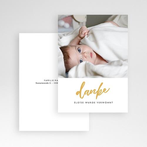 Dankeskarten Geburt Mädchen - Merely Love 63172 thumb