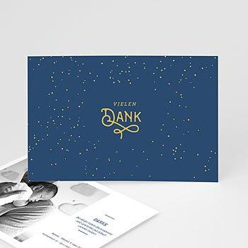 Dankeskarten Geburt Jungen - Luna - 0