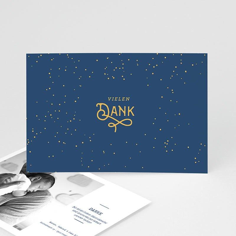 Dankeskarten Geburt Jungen - Luna 63177 thumb