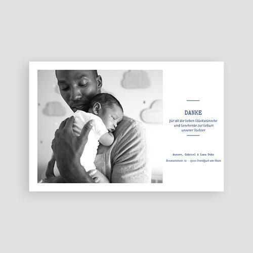 Dankeskarten Geburt Jungen - Luna 63178 thumb