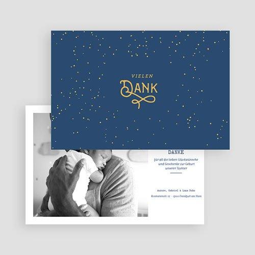 Dankeskarten Geburt Jungen - Luna 63179 thumb