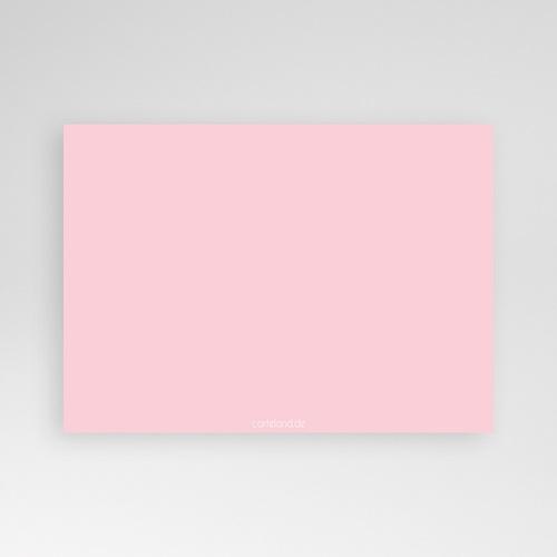 Geburtskarten für Mädchen - Fotoreihe rosé 632 test