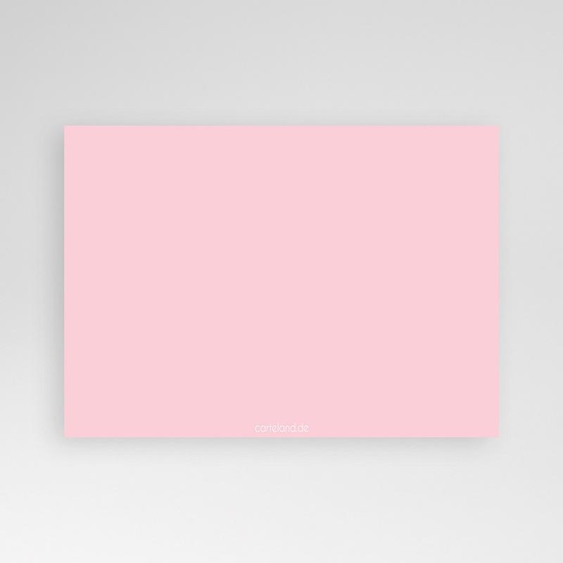 Geburtskarten für Mädchen Fotoreihe rosé pas cher