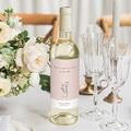 Flaschenetiketten Hochzeit 2 Herzen