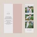 Originelle Dankeskarten Hochzeit 2 Herzen pas cher