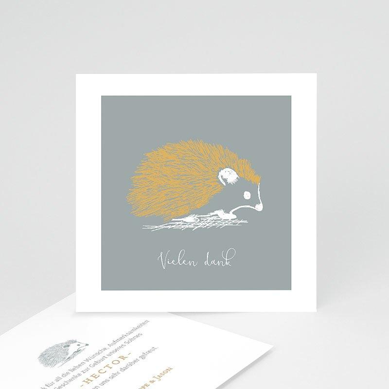 Dankeskarten Geburt Jungen - Goldigel 63279 thumb