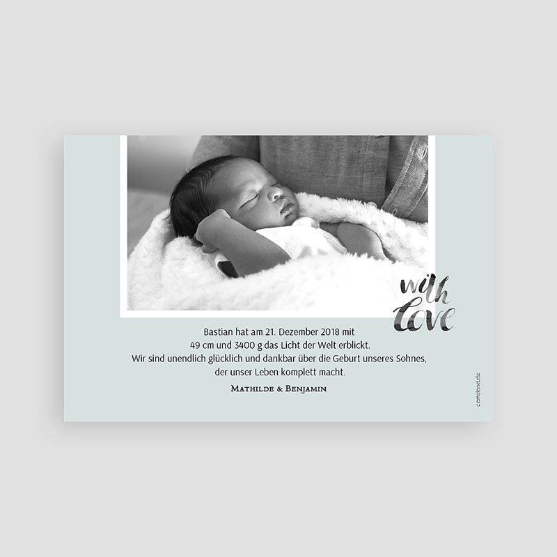 Geburtskarten für Jungen Motiv & Gold pas cher