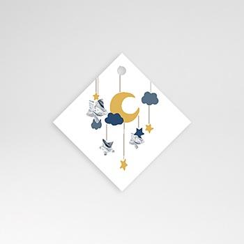 Anhänger Geburt - Mond Mobilie - 0