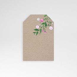 Anhänger Hochzeit Vintage Flower