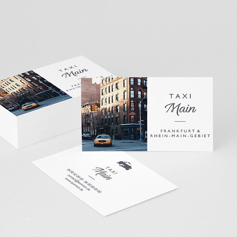 Visitenkarten Taxi