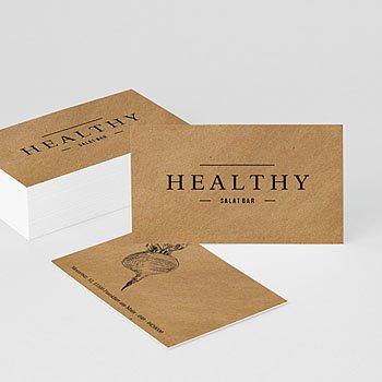 Visitenkarten - Healthy - 0