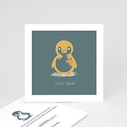 Danksagungskarten Geburt Kleiner Pinguin