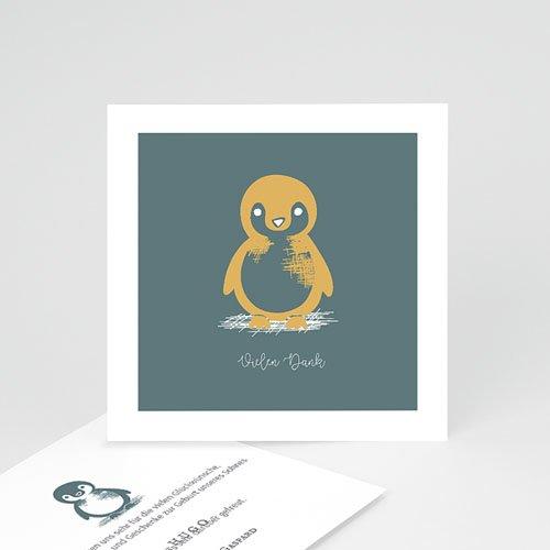 Danksagung Geburt Tiermotive - Kleiner Pinguin 63986 thumb