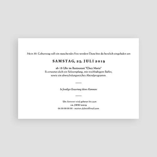 Einladung 50 Geburtstag Joyfull 50 Cartelandde