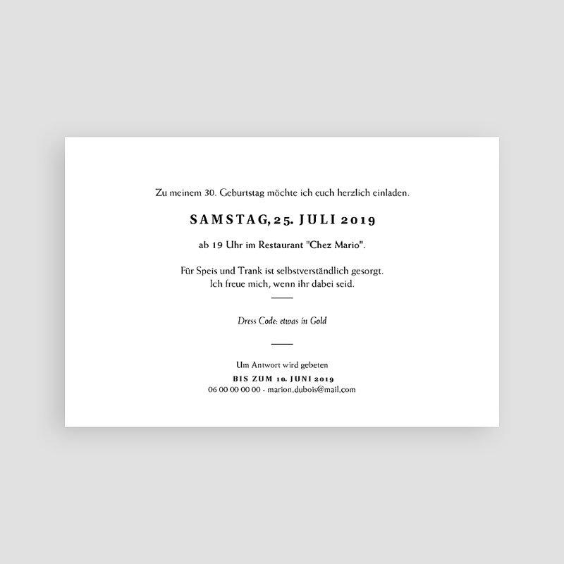 30 Jahre Alt Einladungskarten Geburtstag Joyful 30 pas cher